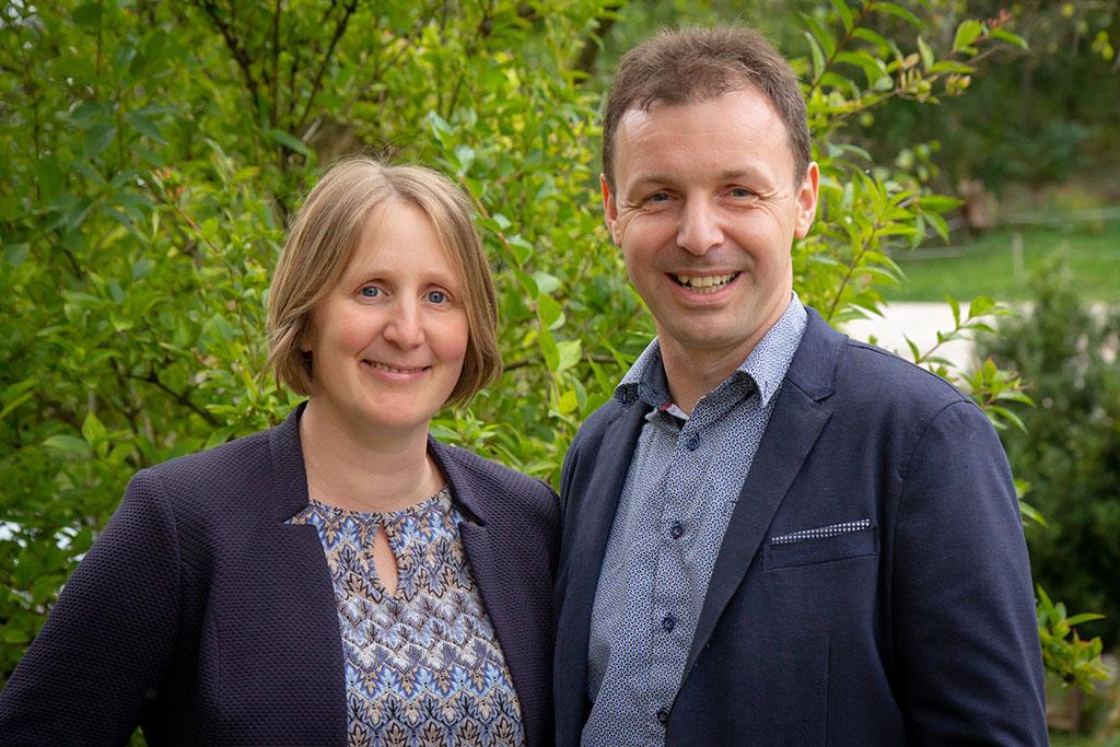 Birgit und Andreas Scheikl